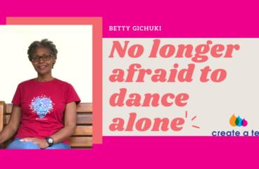 I'm no longer afraid to dance alone